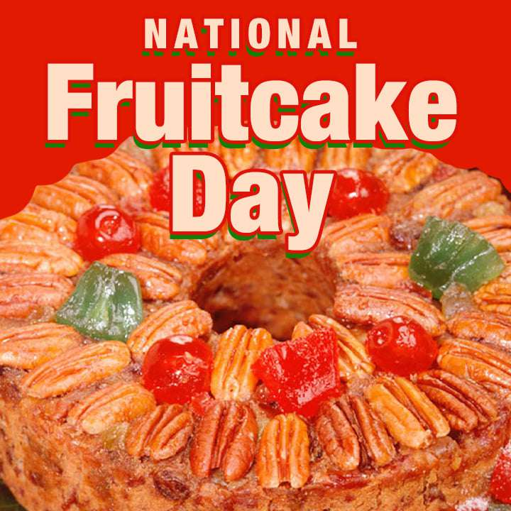 National Fruitcake Day Wishes Unique Image