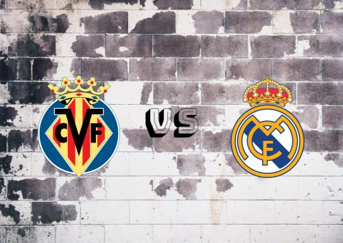 Villarreal vs Real Madrid  Resumen y Partido Completo