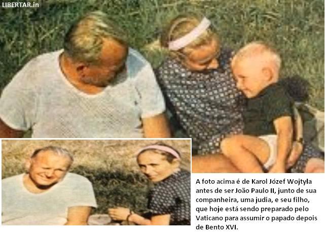 """Papa João Paulo II teve um filho, hoje com 60 anos, e poderá substituir O Bento 16 e ser """"O Anti-Papa"""""""