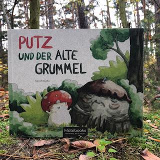 Putz und der alte Grummel - Matabooks - Bilderbuch aus Graspapier