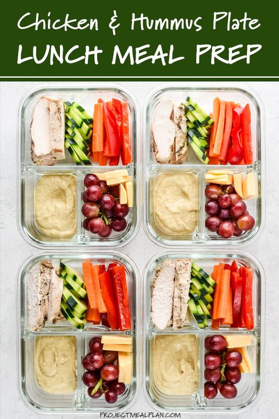 This Chicken & Hummus Plate Lunch Meal Prep is so simple yet incredibly filling and delicious! Get back to basics with some fresh cut bell pepper, carrot, cucumbers, paired with a perfect portion of…