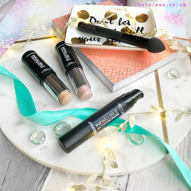 l'oreal-strobing-kit-superdrug-infallible-stick-mattifying-primer-review