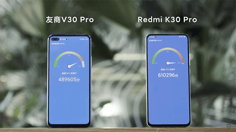 Redmi K30 Pro scores 610K at AnTuTu, faster than HONOR V30 Pro