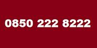 0850 222 8222 Telefon Numarası Kimin