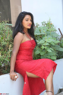 Mamatha sizzles in red Gown at Katrina Karina Madhyalo Kamal Haasan movie Launch event 019.JPG