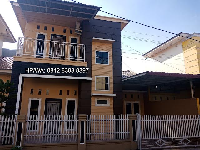 Rumah minimalis 2 lantai di Pasar 1 Setiabudi di Komplek Artha Laksa dekat Sekolah Namira Ring Road dan USU Medan Sumatera Utara