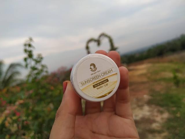 sunscreen cream