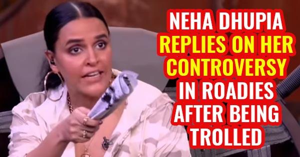 neha dhupia roadies controversy