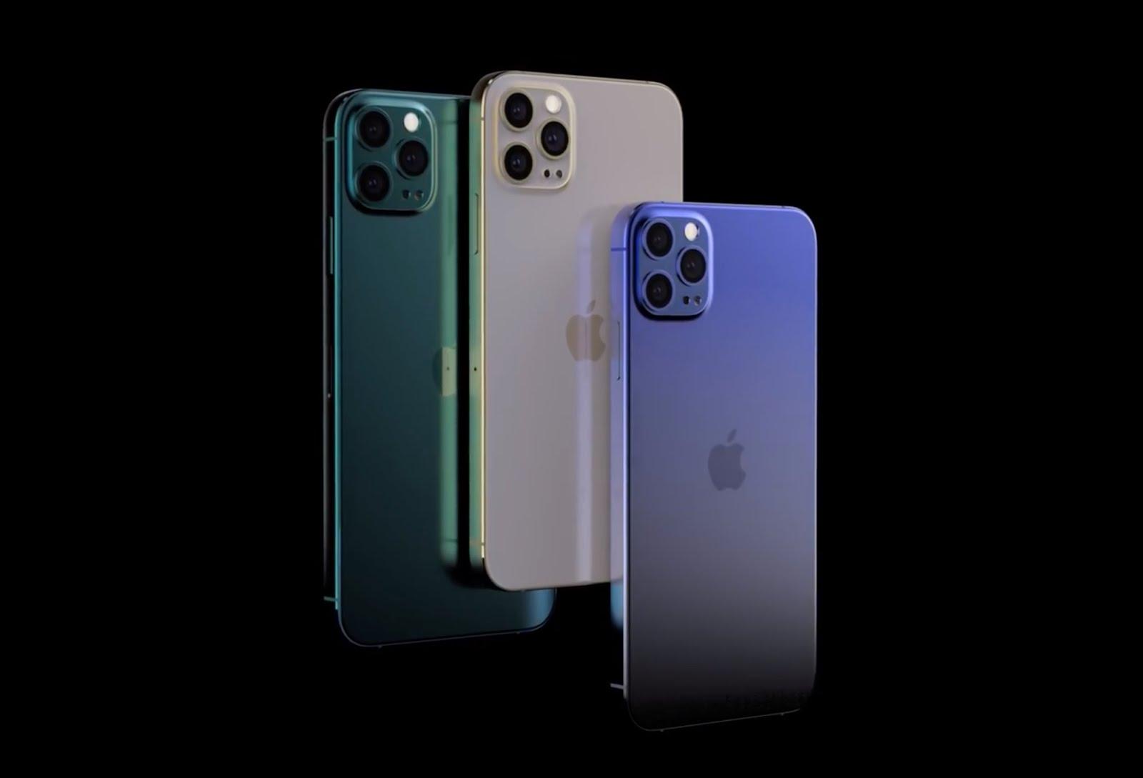 iPhone 12 سيأتي بكاميرا بدقة 64MP ،بطارية اكبر وشاشة بمزايا اضافية