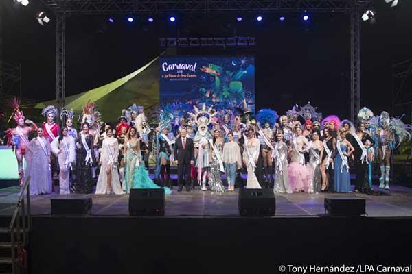 El Carnaval de Las Palmas de Gran Canaria 2018 en antiguo Estadio Insular