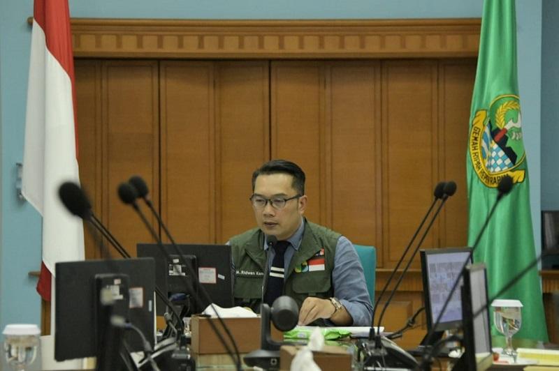 Rakor Bersama Menteri, Ridwan Kamil : Jabar Butuh 30 Ribu APD