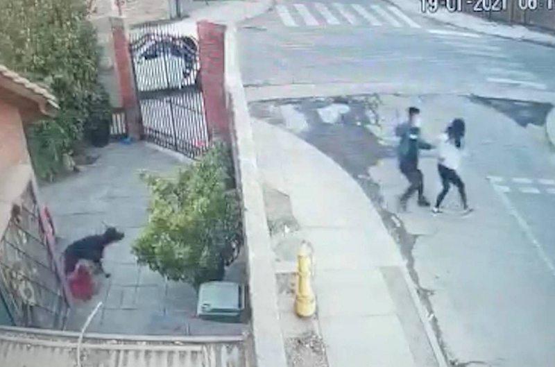 Detective recién egresada sufrió un asalto y tuvo una rápida reacción