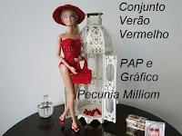 PAP do Maiô de Crochê  Para Boneca Barbie