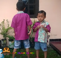 batik anak cap smoke mix yam dyed