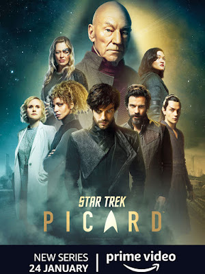 Star Trek Picard (TV Series) S01 DVD HD Dual Latino + Sub FORZADOS 2DVD