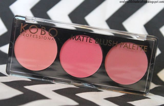 Kobo Professional Matte Blush Palette