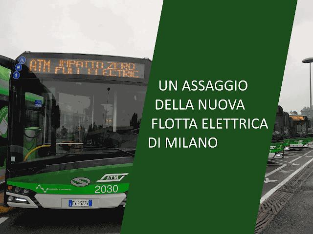 Un assaggio della nuova flotta elettrica di Milano