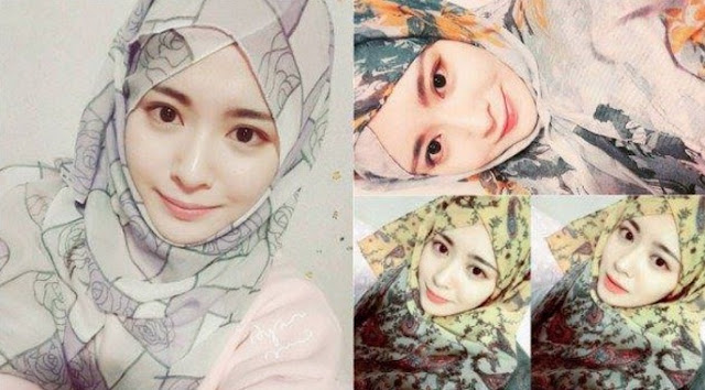 Muslimah Korea yang Anggun Menawan