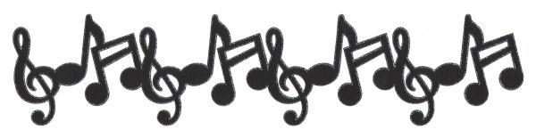 Create, Believe, Imagine at Dreamscrapbooks: Music Note