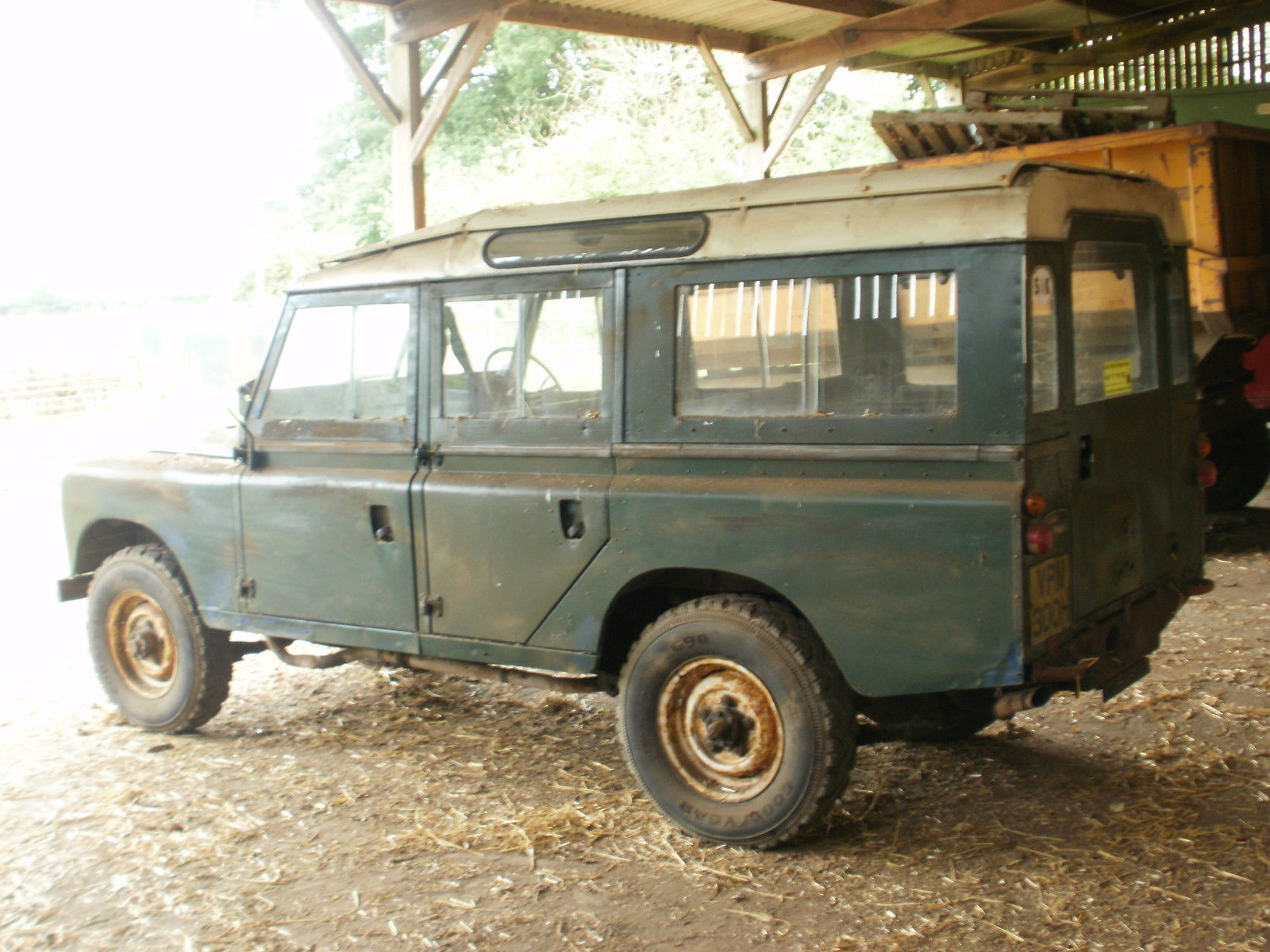 Barn Find 1970 Land Rover Series 2A Station Wagon 4x4 Cars
