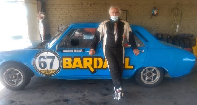 A los 70 años, 'Cachencho' volvió a correr y se retiró del automovilismo