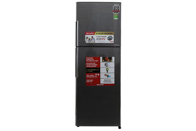 Tủ lạnh Sharp Inverter 287 lít SJ-X316E-DS