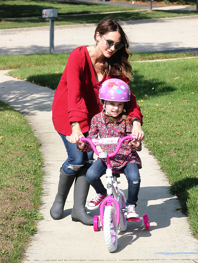 Giving the Gift of Fun: A Child's First Bicycle