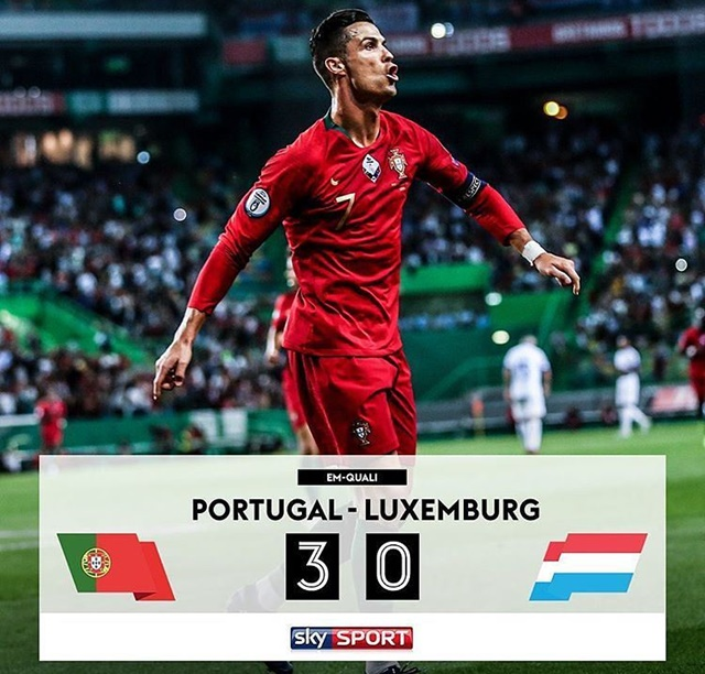 Portugal vs Luksemburg