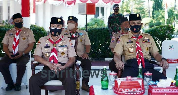 Pangdam Hasanuddin Ikuti Apel Besar 59 Tahun Gerakan Pramuka