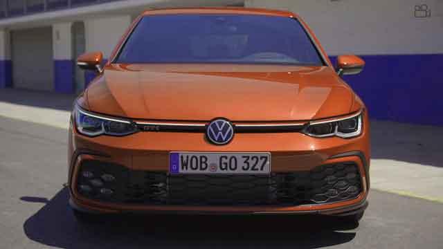 التصميم الخارجي لسيارة فاجن GTI 2021
