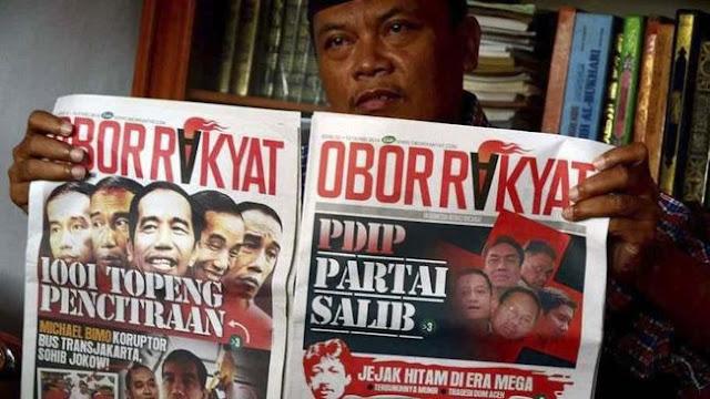 Kubu Jokowi Seret Obor Rakyat ke Ranah Hukum Bila Fitnah Lagi