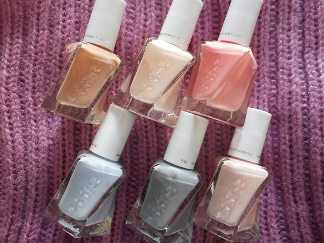 Essie Gel Couture Ballet Nudes Collection