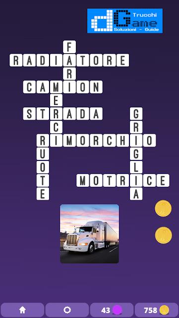 Soluzioni One Clue Crossword livello 3 schema 14 (Cruciverba illustrato)  | Parole e foto