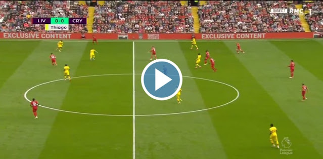 Liverpool vs Crystal Palace Live Score