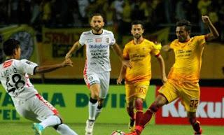 Hasil Akhir Sriwijaya FC vs Bali United 0-0 Leg 1 Semifinal Piala Presiden 2018