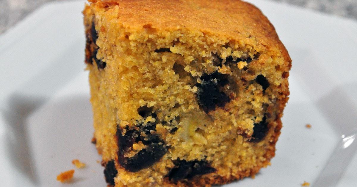 Banana Cake Oil Polenta Flour Free
