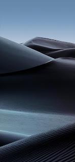 خلفية رمال سوداء للايفون