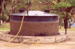 biodigestor de batelada  zona rural