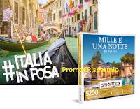 Logo Concorso Smartbox #Italiainposa : vinci gratis 13 cofanetti e buoni sconto per chi vota
