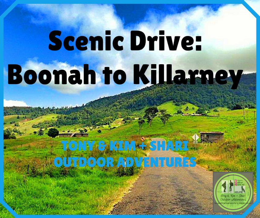 SCENIC DRIVE: BOONAH TO KILLARNEY. SOUTHEAST QUEENSLAND, AUSTRALIA