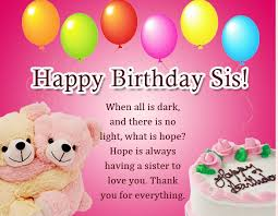 happy birthday sister images
