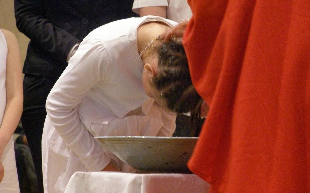 baptême d'enfant en âge scolaire