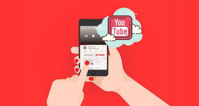 Video Youtube Berjalan Dibelakang Background