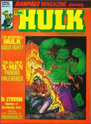 Rampage Magazine #23, the Hulk