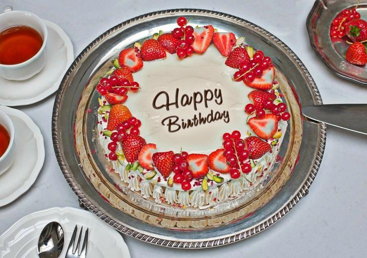 Happy Birthday Images Cake