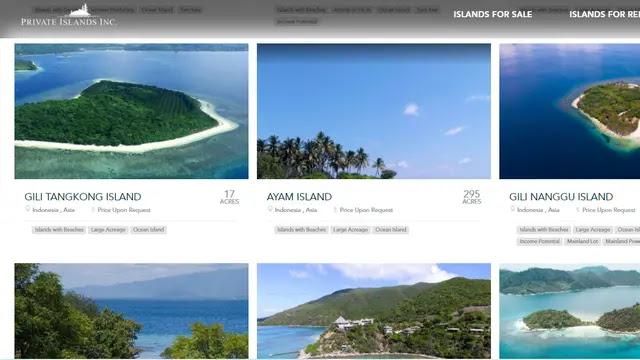 8 Pulau di Indonesia Dijual di Situs Daring, Kemendagri: Masyarakat Jangan Mudah Percaya