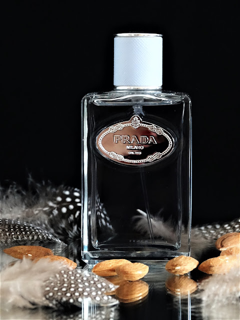 avis parfum, parfum prada avis, infusion amande prada avis, parfum femme à l'amande, parfum à l'amande