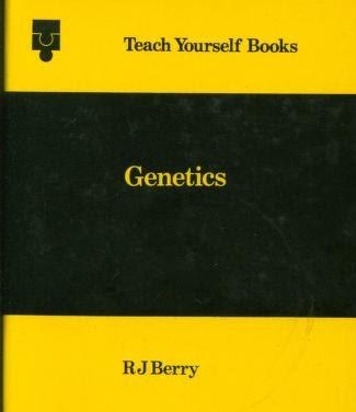 Genetics (Teach yourself books) PDF book 1972