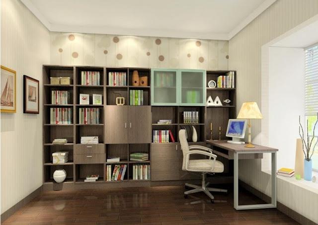 Décoration salles d'étude