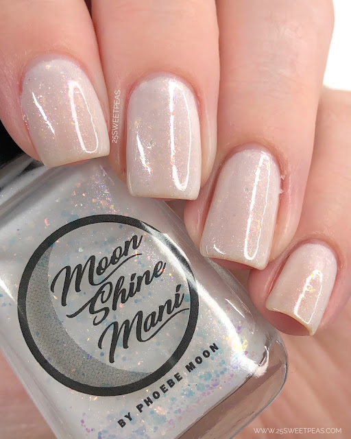 Moon Shine Mani Mrs. White 25 Sweetpeas